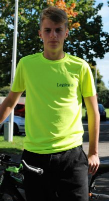 dbb1fa2cd T-SHIRT IN ELECTRIC PINK, YELLOW OR ORANGE, LEGLITE HIGH VISIBILITY ...